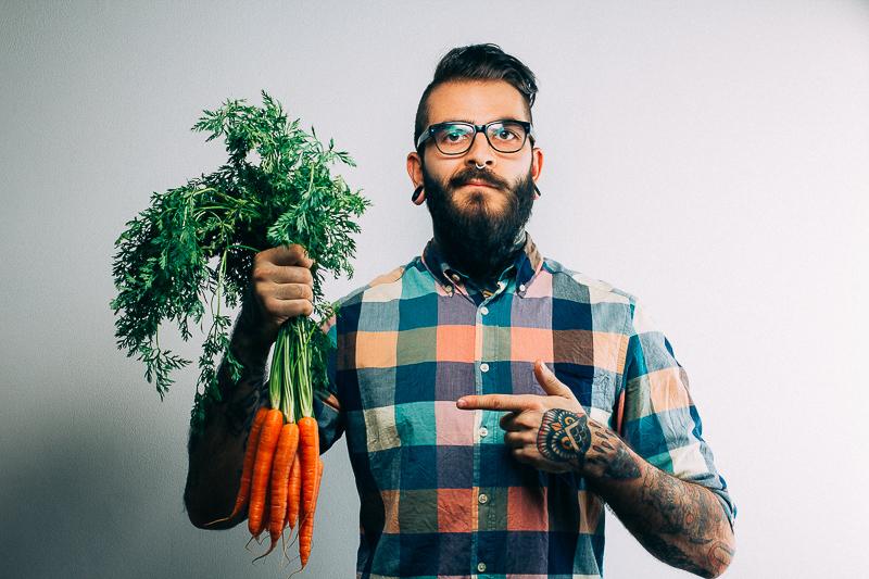Не забравяйте да си хапвате зеленчуците!