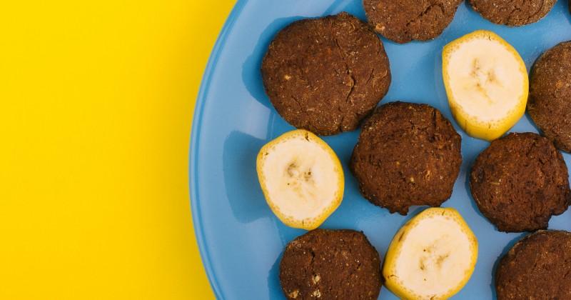 Бананови курабии без захар