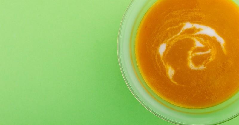 Джинджифилена супа от моркови