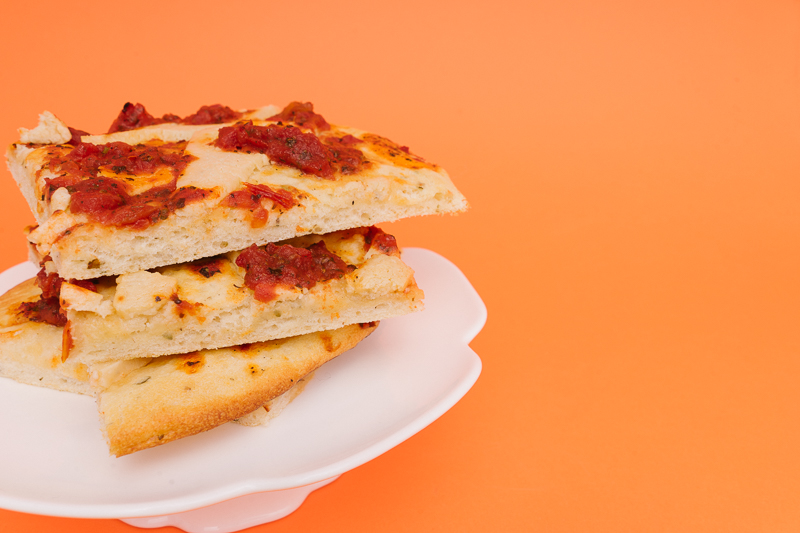Веган пица със Delishu