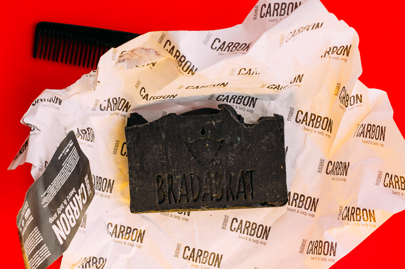 Сапун за брада и тяло Carbon