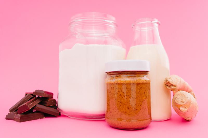 Продукти за джинджифилови кукита с шоколад