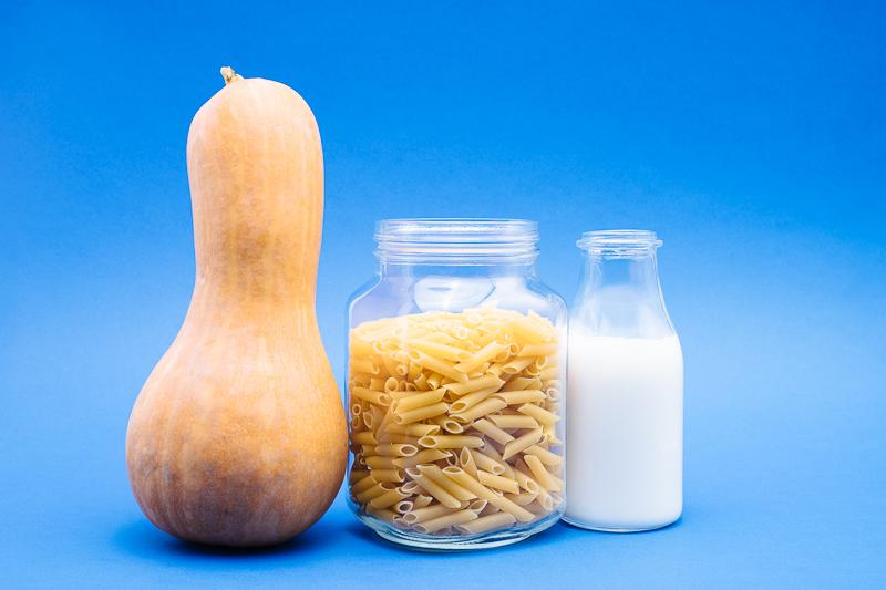 Продукти за веган макарони на фурна