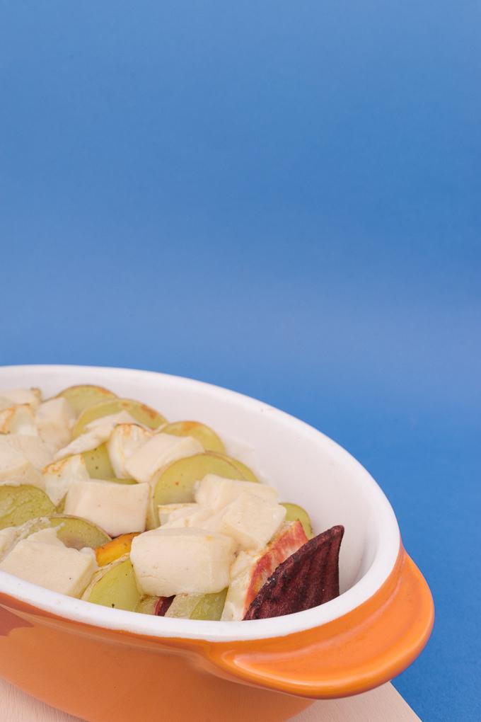 Веган рататуй с кореноплодни зеленчуци